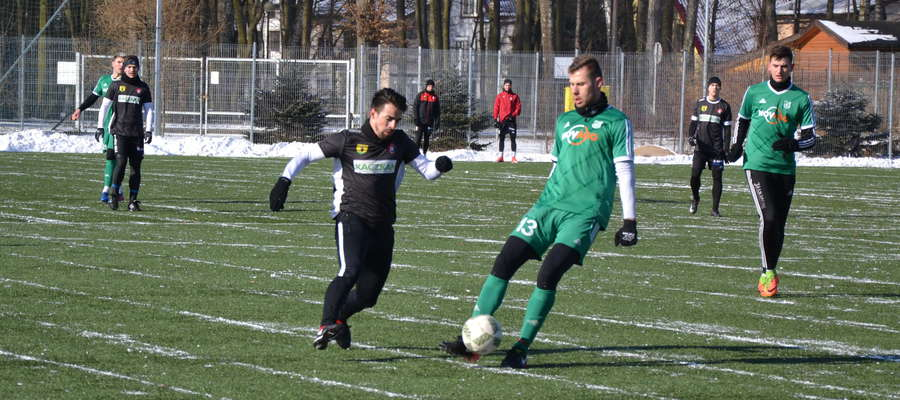 Joao Augusto strzelił dwa gole w meczu z Mławianką