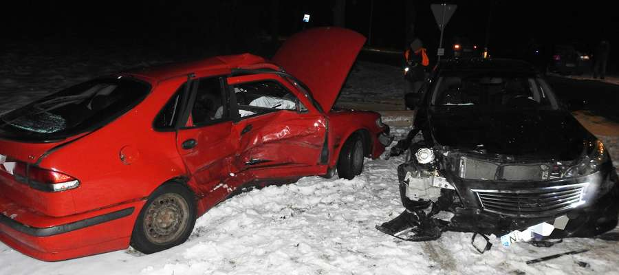 W Elblągu na ul. Fromborskiej zderzyły się dwie osobówki. Na szczęście nikomu nic poważnego się nie stało