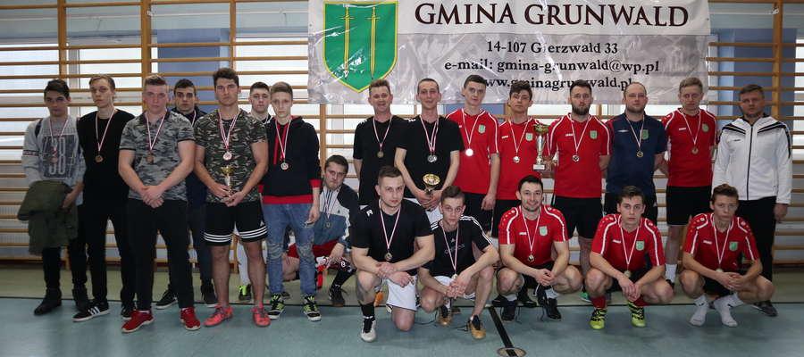 Najlepsze ekipy piłkarskiego turnieju o puchar wójta gminy Grunwald