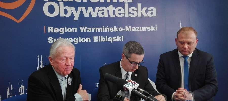 Konferencja w Platformie Obywatelskiej
