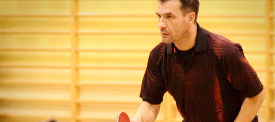 Andrzej Ciemiecki w czasie turnieju w Gwiździnach