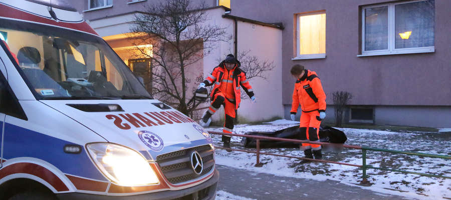 Tragedia na Nagórkach. Kobieta wypadła z okna wieżowca