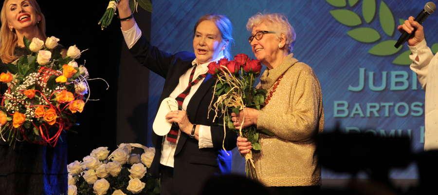 Teraźniejszość i historia, czyli dyrektorki Bartoszyckiego Domu Kultury (od lewej): Katarzyna Basak, Janina Jocek i Jadwiga Mulik