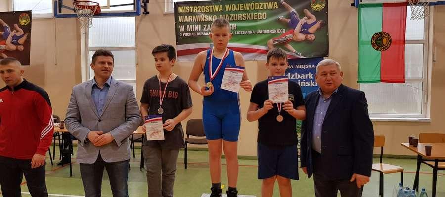 Ksawier Skol zdobył tytuł Mistrza Województwa Warmińsko-Mazurskiego w kategorii 54 kg