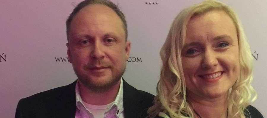 fot. — Barbara i Marcin Kwinto (wnuk naszej bajkopisarki) poznali się w pracy - w sklepie meblowym i od tej pory trwają przy sobie i... meblach
