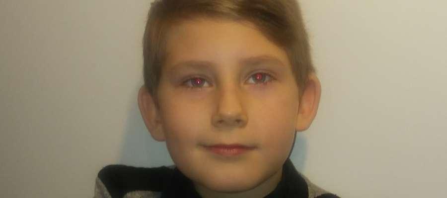 Konrad z Olsztyna ma 8 lat