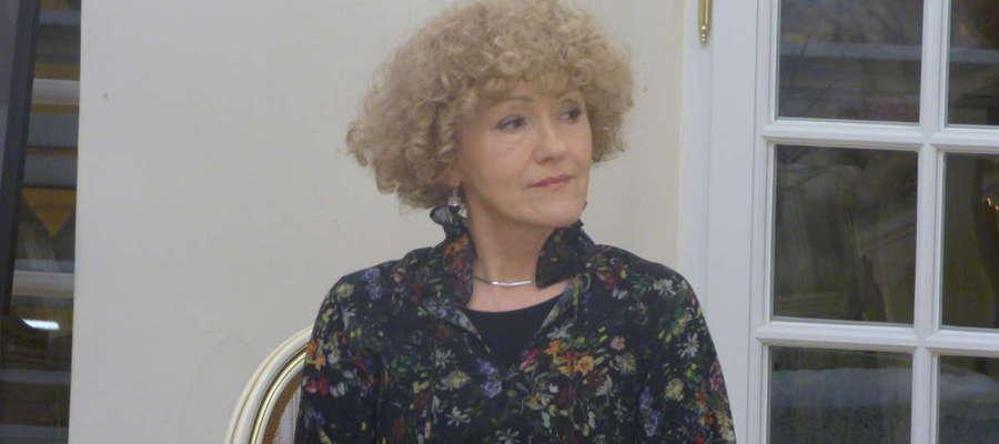 Fot.Małgorzata Jackiewicz-Garniec znana jest lidzbarczanom głównie jako kustosz zamkowego muzeum.