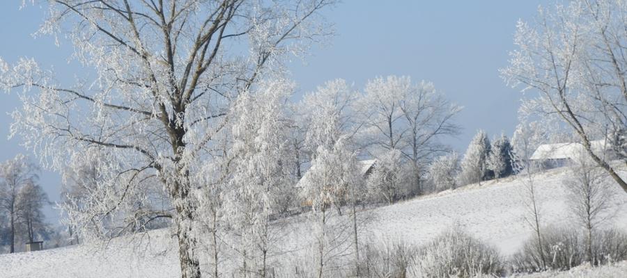 Zimowy krajobraz Kandyt