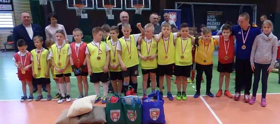 Młodzi piłkarze z Janowa byli rewelacją turnieju