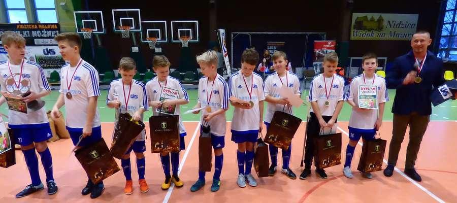 UKS Jedynka I Nidzica zajęła 3 miejsce w turnieju Nidzica Cup 20018
