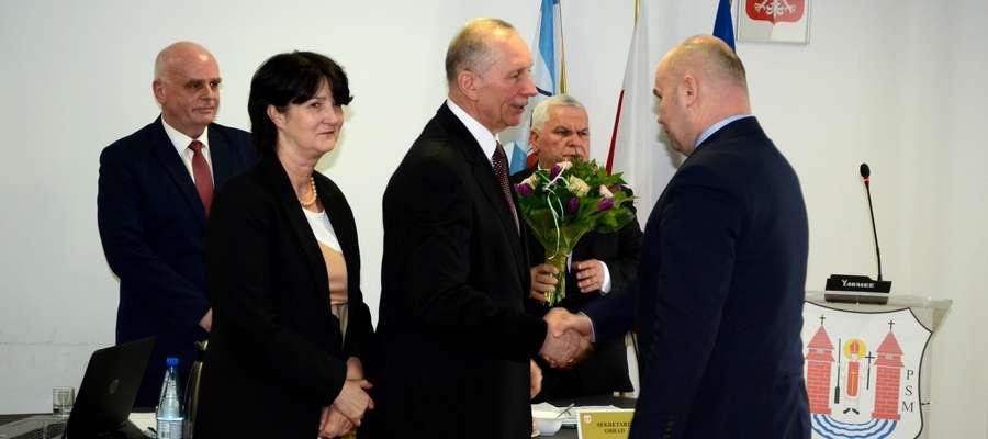 Burmistrz oficjalnie podziękował Henrykowi Antczakowi