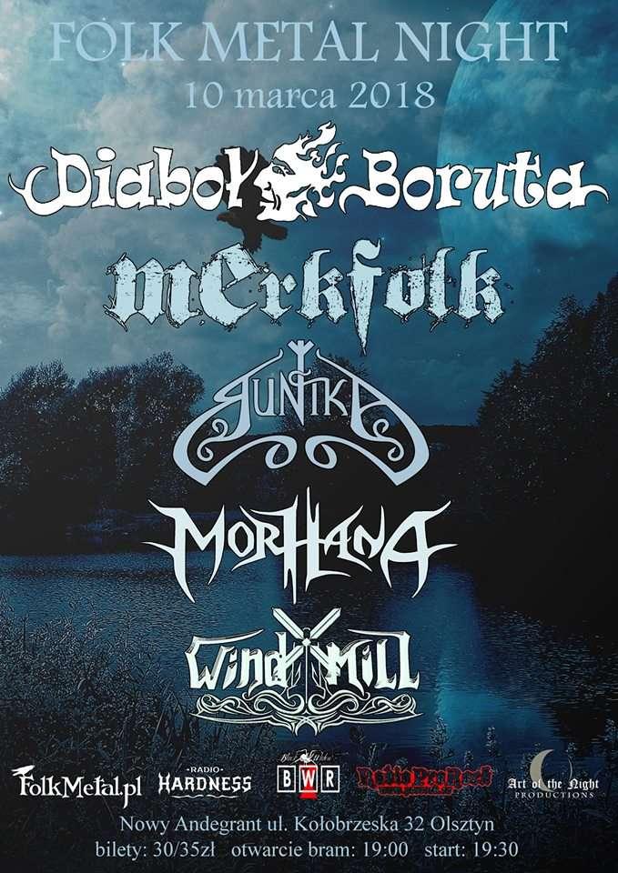 Folk Metal Night w Olsztynie - full image