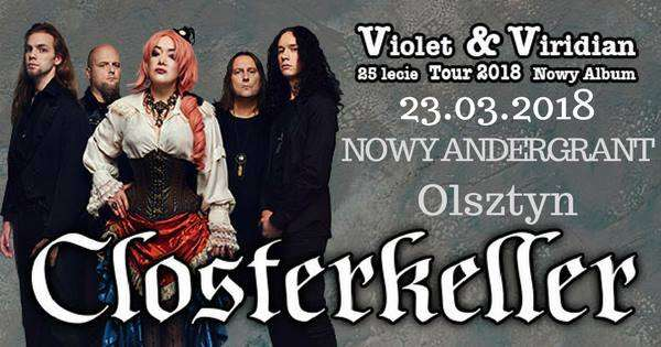 Violet & Viridian Tour 2018. Closterkeller w Olsztynie - full image