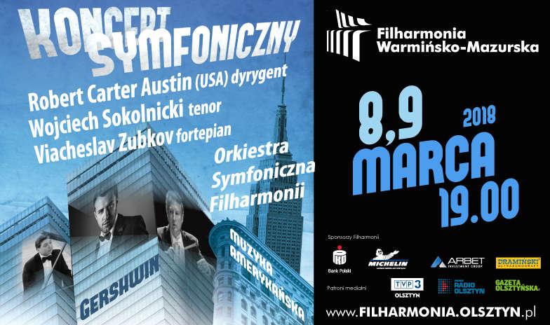 Koncerty symfoniczne w olsztyńskiej filharmonii  - full image