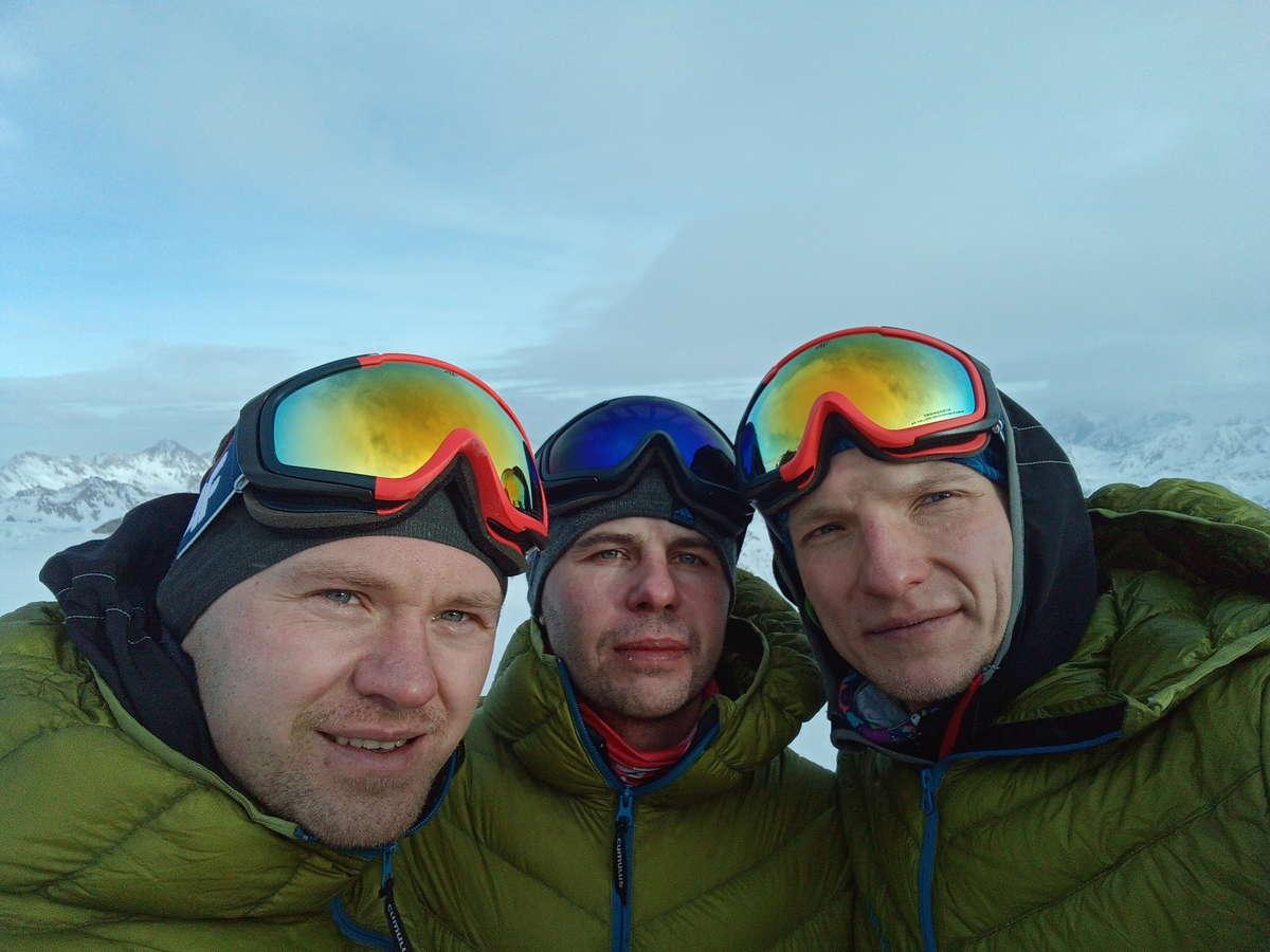Od lewej: Paweł Zapadka, Łukasz Prot, Michał Paszkowski