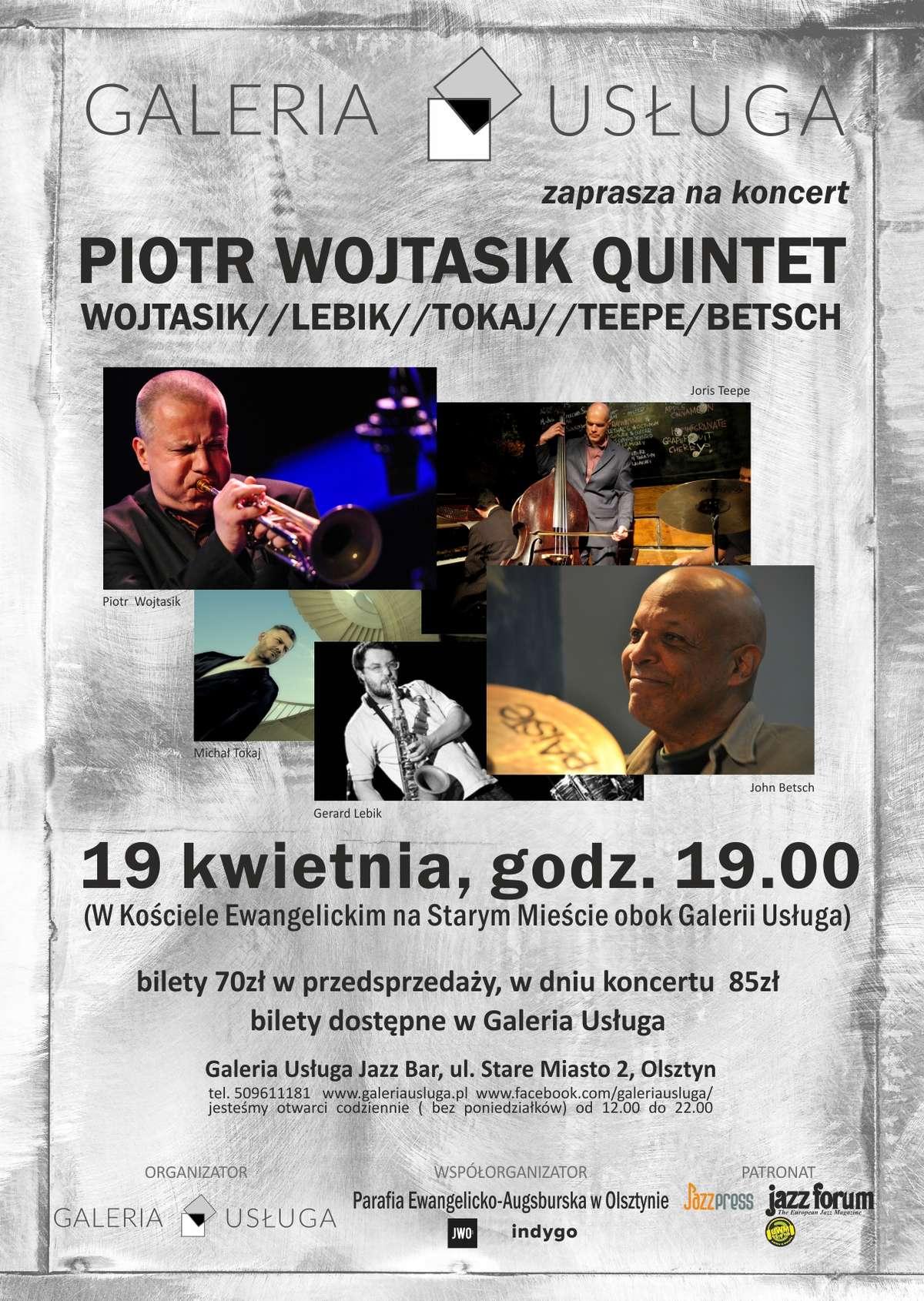 Piotr Wojtasik Quintet w Galerii Usługa w Olsztynie - full image