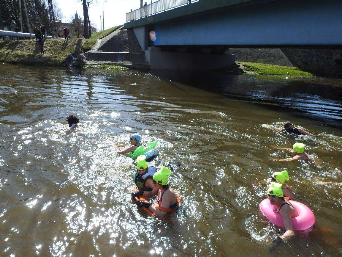 V Pływanie Morsów w Rzece Łynie - full image