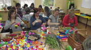 Warsztaty przedświąteczne w szkole w Żydowie