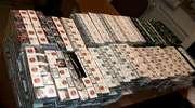 Pod Olsztynem przejęto blisko 8 tysięcy paczek papierosów