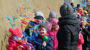 Powitanie wiosny w szkole w Boleszynie