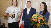 Złoty Zalewski z wizytą u wojewody i prezydenta [ZDJĘCIA, WIDEO]