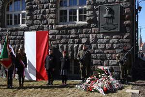 W Olsztynie obchodzono imieniny marszałka Józefa Piłsudskiego [VIDEO, ZDJĘCIA]
