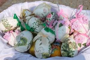 Wielkanocny jarmark na lubawskim Rynku
