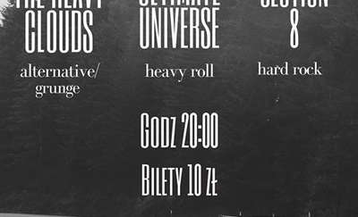 Ultimate Universe, The Heavy Clouds i Section 8 w Olsztynie