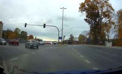 Jazda pod prąd na wiadukcie w centrum Olsztyna? To możliwe!
