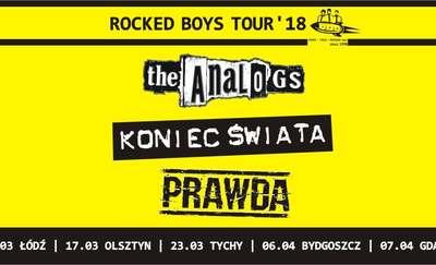 Rocked Boys Tour 2018: Trzy zespoły na jednej scenie