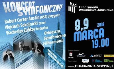 Koncerty symfoniczne w olsztyńskiej filharmonii