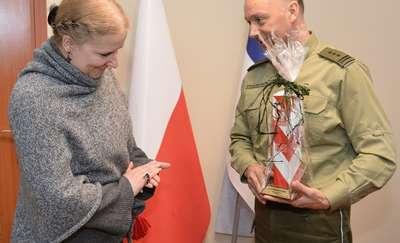 Wizyta Konsula w Warmińsko-Mazurskim Oddziale SG