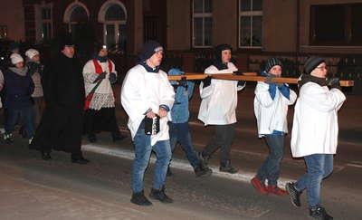 Ekstremalna Droga Krzyżowa przeszła drogami miasta i gminy Lubawa