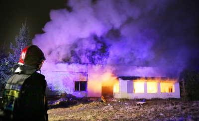 Mężczyzna zmarł w pożarze mieszkania