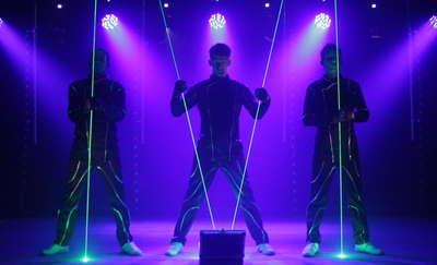 Wpierw lasery i iluzja, a potem gala pełna adrenaliny i emocji