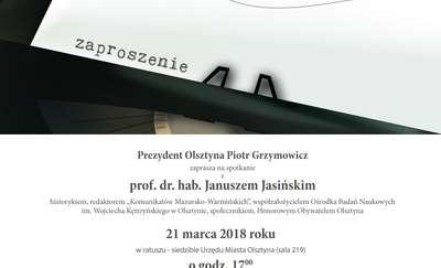 Spotkanie z profesorem Januszem Jasińskim