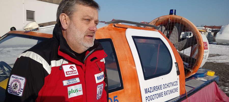 Zbigniew Kurowicki: Pamiętajmy, że zawsze, niezależnie od mrozów, na lodzie trzeba zachować maksymalną ostrożność