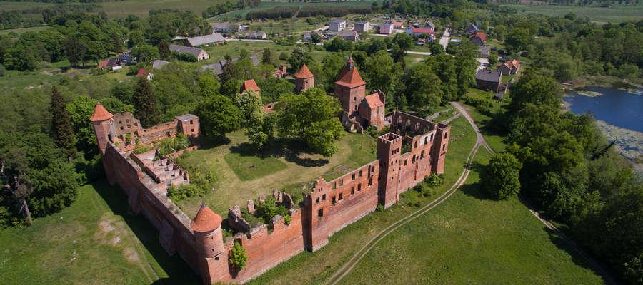 Zamek krzyżacki w Szymbarku to historyczna perełka nie tylko dla gminy Iława