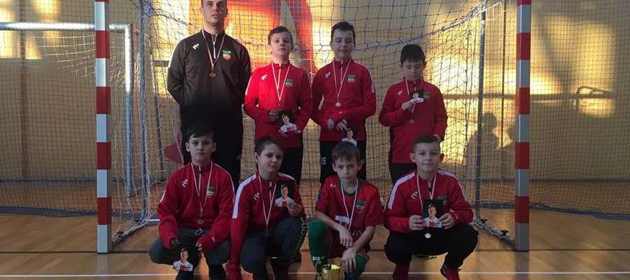 Piłkarze Wkry Żuromin zajęli 6 miejsce w sobotnim turnieju