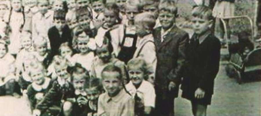 pierwsza połowa lat 50. Dzieciaki z SP 1