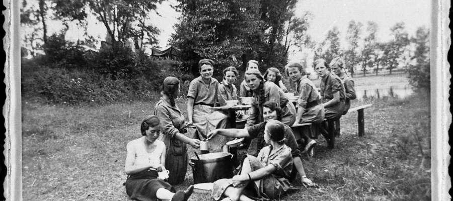 16366 - kurs drużynowych w Czyżkach, 1936 r.