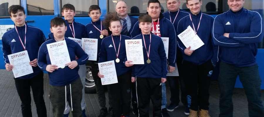 Sportowcy z Kurzętnika zdobyli 9 medali