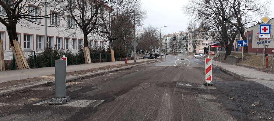 Przebudowa ul. Jagiellońskiej skomplikowała życie mieszkańcom kilku ulic w tym rejonie miasta