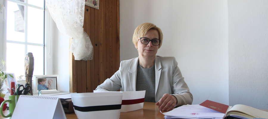 Maria Danielewicz, przewodnicząca Okręgowej Rady Pielęgniarek i Położnych w Olsztynie