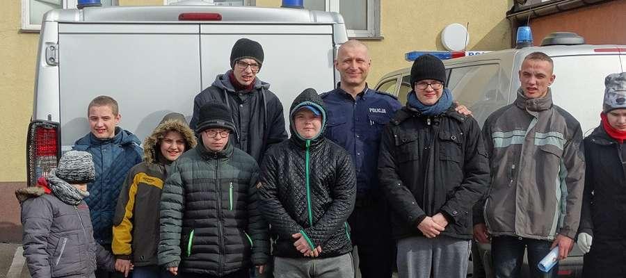 Uczniowie z Zespołu Szkół Specjalnych byli zadowoleni z wycieczki