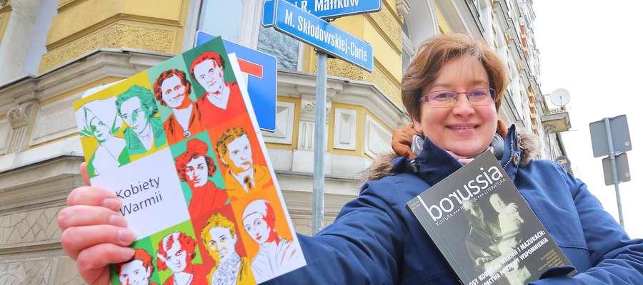 Monika Falej  Olsztyn-Monika Falej uważa że jest za mało ulic z nazwiskami kobiet