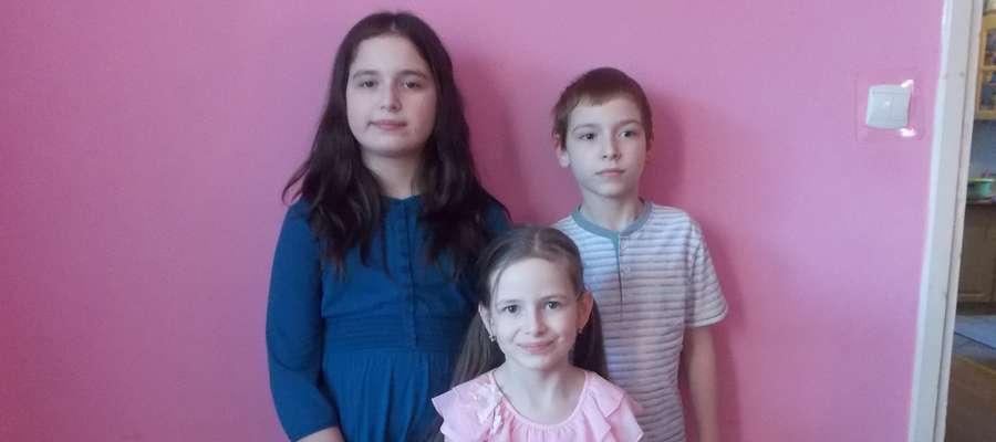 Rodzeństwo Gabrysia, Zuzia i Antek tworzą zgraną paczkę