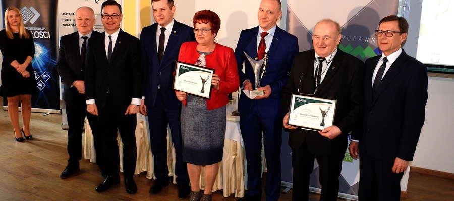 """Zwycięzcy plebiscytu """"Super Sołtys 2018"""" na gali w Olsztynie"""