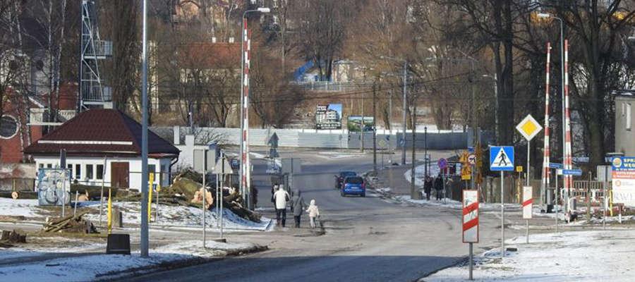 15 marca zamknięta zostanie ulica Drwęcka i leżący w jej ciągu przejazd kolejowy