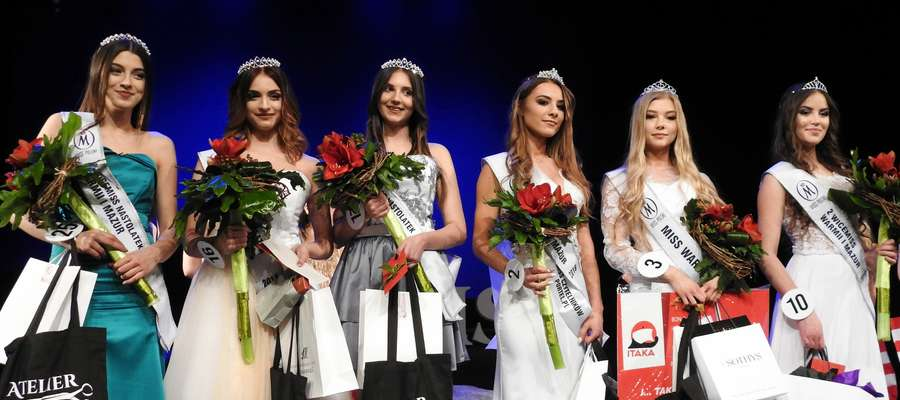 Triumfatorki ubiegłorocznego konkursu Miss Warmii i Mazur